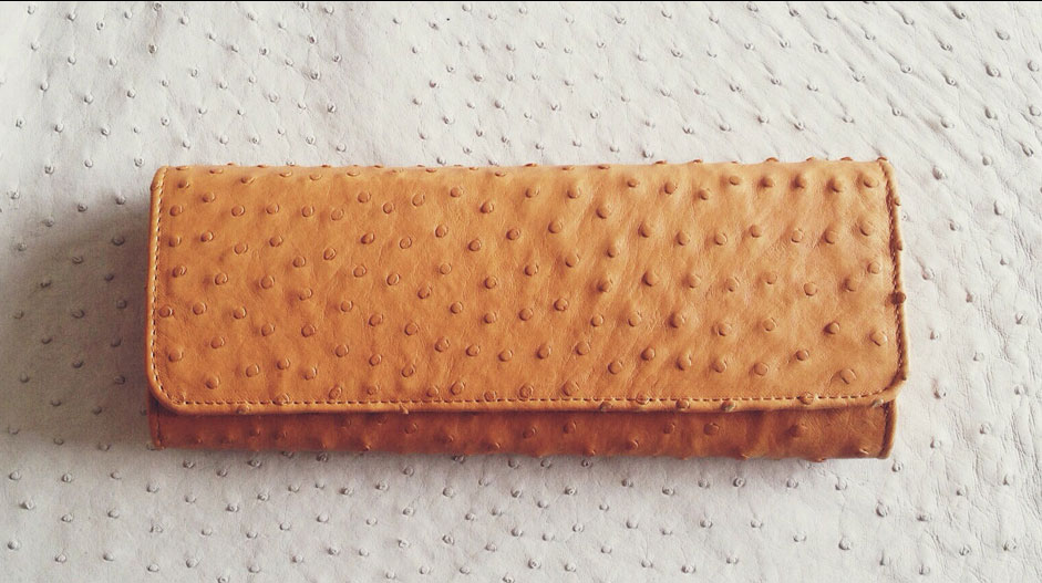 OSTRICH LEATHER CARE